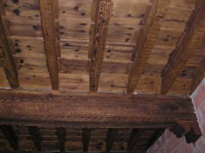 Restauro soffitti lignei